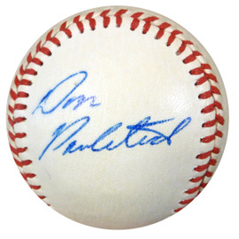 Don Pavletich Autographed Baseball Boston Red Sox PSA/DNA #Z80546