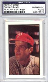 Connie Ryan Autographed 1953 Bowman Reprint Card #131 Philadelphia Phillies PSA/DNA #83827521