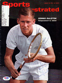 """Dennis Ralston Autographed Sports Illustrated Magazine Cover """"To Brad"""" PSA/DNA #Z80492"""