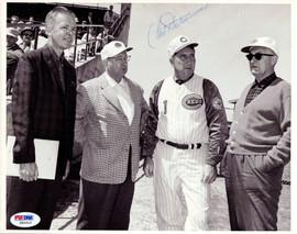 Fred Hutchinson Autographed 8x10 Photo Cincinnati Reds PSA/DNA #Z83313