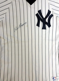 New York Yankees Red Ruffing Autographed White Jersey PSA/DNA #V11072