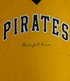 Pittsburgh Pirates Burleigh Grimes Autographed Yellow Jersey PSA/DNA #V93947