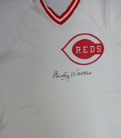 Cincinnati Reds Bucky Walters Autographed White Jersey PSA/DNA #V11071