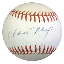 Charlie Neal Autographed Official NL Baseball Brooklyn Dodgers PSA/DNA #AA38689