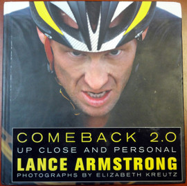 Lance Armstrong Autographed Book PSA/DNA #J38038