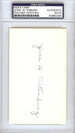 Jesse Altenburg Autographed 3x5 Index Card Pittsburgh Pirates PSA/DNA #83860280