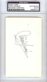 """Vinicio """"Chico"""" Garcia Autographed 3x5 Index Card Baltimore Orioles PSA/DNA #83862512"""