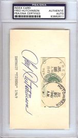 Fred Hutchinson Autographed 3x5 Index Card Detroit Tigers PSA/DNA #83862611