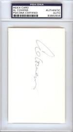 Al Cowens Autographed 3x5 Index Card Kansas City Royals, Detroit Tigers PSA/DNA #83862806