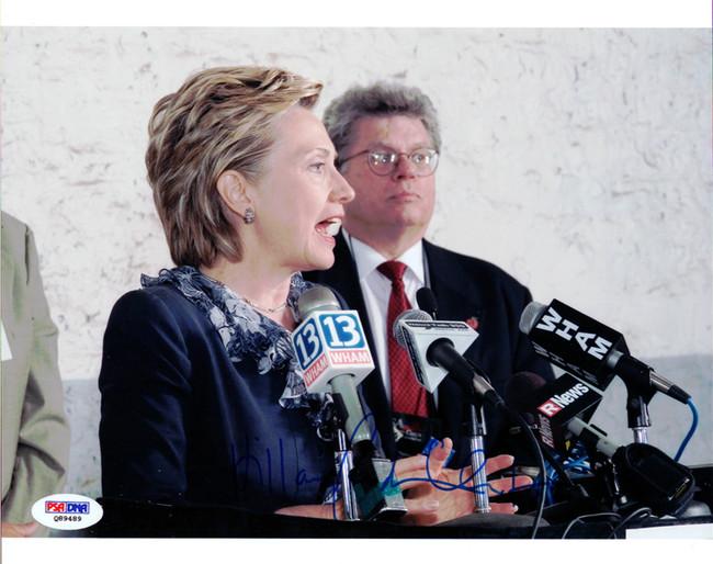 Hillary Rodham Clinton Autographed 8x10 Photo PSA/DNA #Q89489