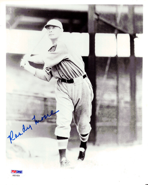 Randy Moore Autographed 8x10 Photo Boston Braves PSA/DNA #AB51604