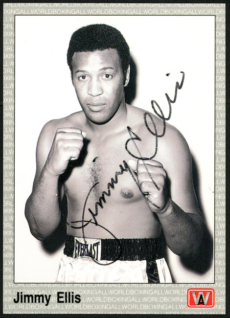 Jimmy Ellis Autographed 1991 All World Card SKU #148216