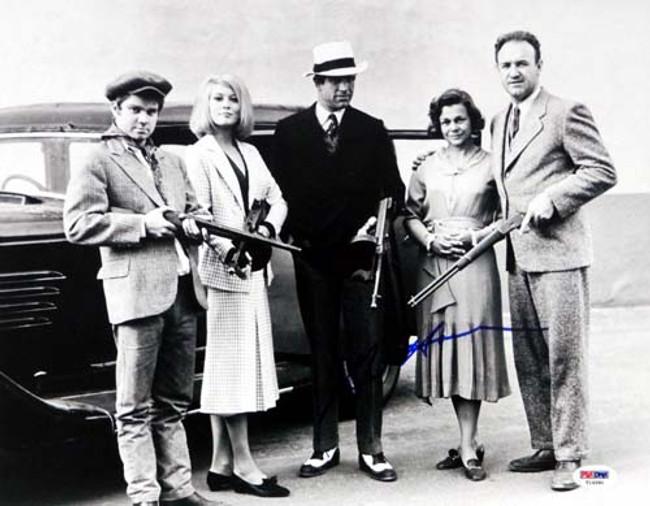 Gene Hackman Autographed 11x14 Photo Bonnie & Clyde PSA/DNA #T14580