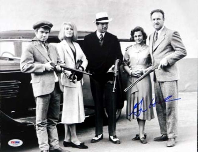 Gene Hackman Autographed 11x14 Photo Bonnie & Clyde PSA/DNA #T14584