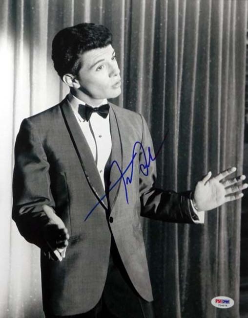 Frankie Avalon Autographed 11x14 Photo PSA/DNA #T14578