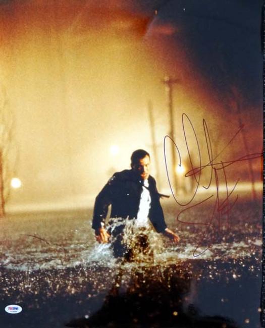 Christian Slater Autographed 16x20 Photo Hard Rain PSA/DNA #T14469
