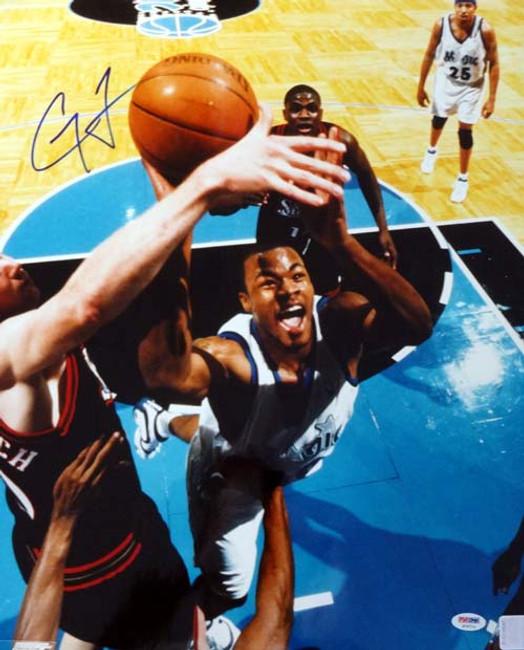 Corey Maggette Autographed 16x20 Photo Orlando Magic PSA/DNA #S76714