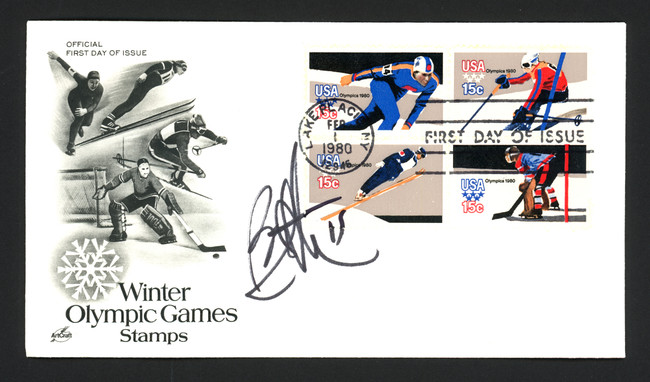 Bryan Trottier Autographed First Day Cover New York Islanders SKU #164957