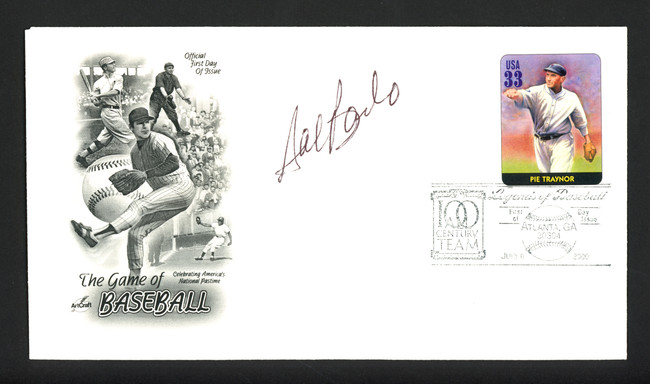 Sal Bando Autographed First Day Cover Oakland A's SKU #164962