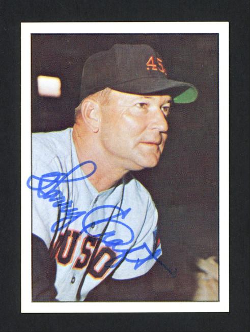 Harry Craft Autographed 1978 TCMA Card #244 Houston Colt .45's SKU #165710