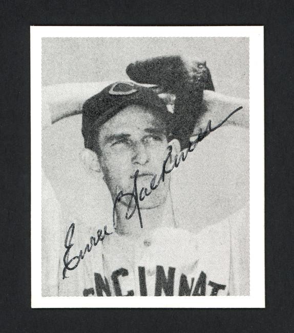 Ewell Blackwell Autographed 1978 Bowman 1948 Bowman Reprint Card #2 Cincinnati Reds SKU #165921