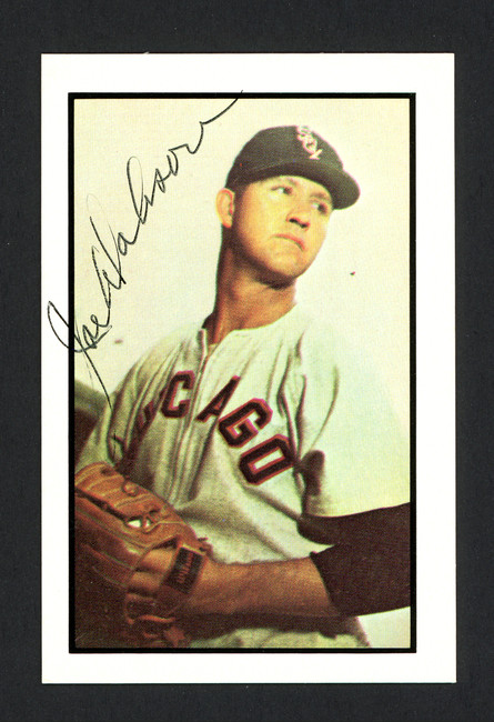 Joe Dobson Autographed 1983 CCC 1953 Bowman Reprint Card #88 Chicago White Sox SKU #166339