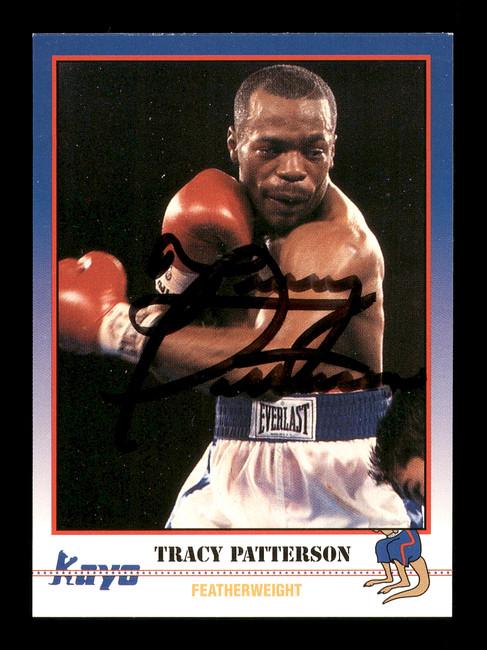Tracy Patterson Autographed 1991 Kayo Card #142 SKU #167240