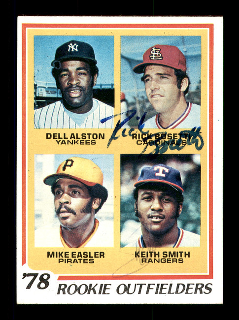 Keith Smith & Rick Bosetti Autographed 1978 Topps Rookie Card #710 SKU #167825