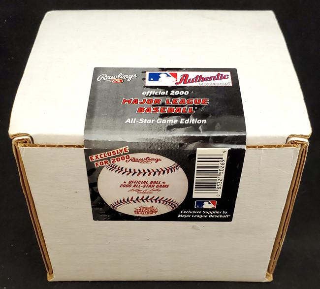 Unsigned Sealed Official 2000 All-Star Game MLB Baseball Atlanta Braves SKU #177027
