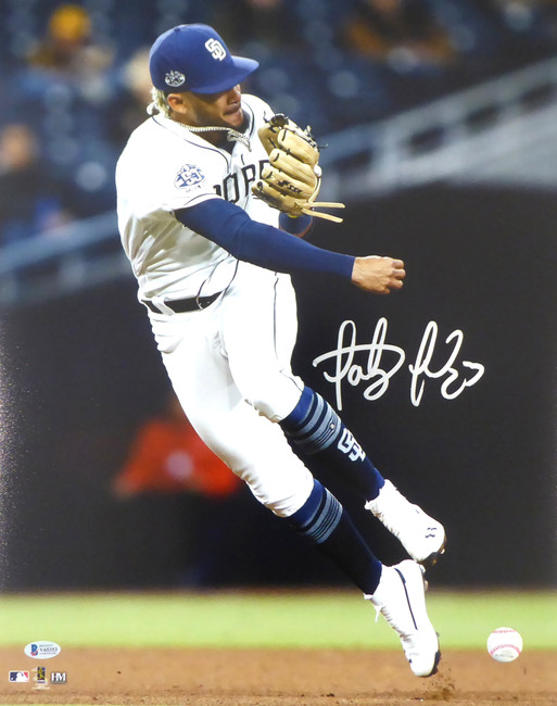 Fernando Tatis Jr. Autographed 16x20 Photo San Diego Padres Beckett BAS Stock #181121