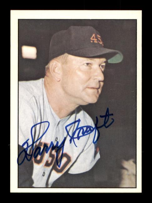 Harry Craft Autographed 1978 TCMA The 1960's Card #244 Houston Colt .45's SKU #189237