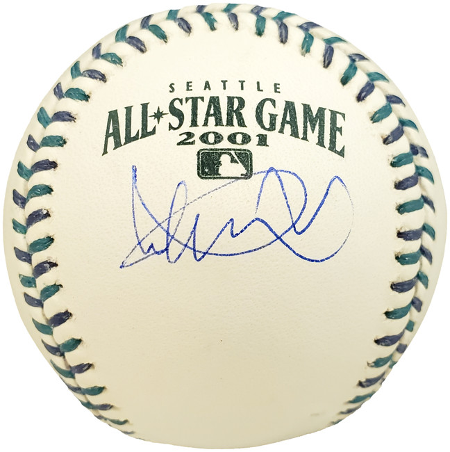 Ichiro Suzuki Autographed Official 2001 All Star Game  Baseball Seattle Mariners Under Logo IS Holo Stock #190508