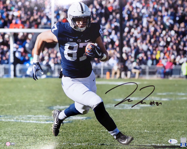 Pat Freiermuth Autographed 16x20 Photo Penn State Nittany Lions Beckett BAS Stock #191140