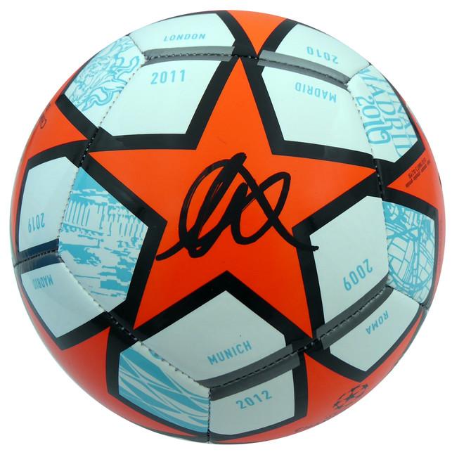 Mason Mount Autographed Adidas Soccer Ball Chelsea F.C. Beckett BAS Stock #196952