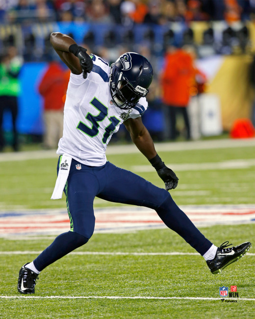 Unsigned 16x20 Photo #1 to be signed by Kam Chancellor **Requires Autograph Ticket To Be Signed**