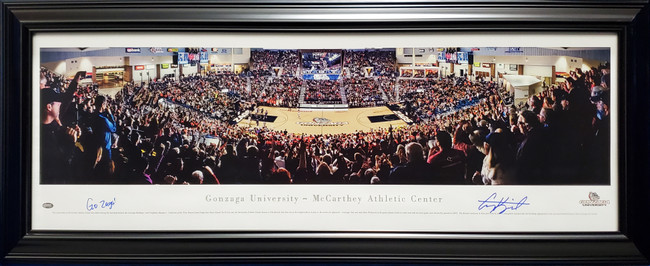 "Corey Kispert Autographed Framed Panoramic Photo Gonzaga Bulldogs ""Go Zags!"" MCS Holo Stock #197173"