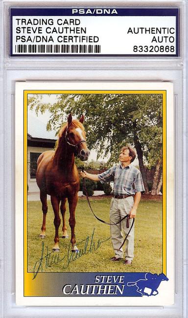 Steve Cauthen Autographed 1993 Trading Card PSA/DNA #83320868