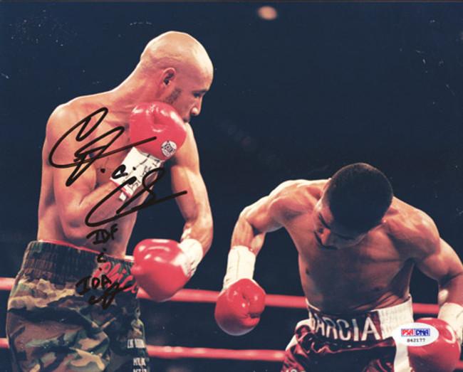 Diego Corrales Autographed 8x10 Photo PSA/DNA #S42177