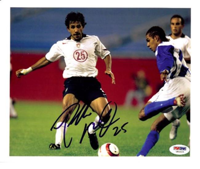 Pablo Mastroeni Autographed 8x10 Photo Team USA PSA/DNA #U54929