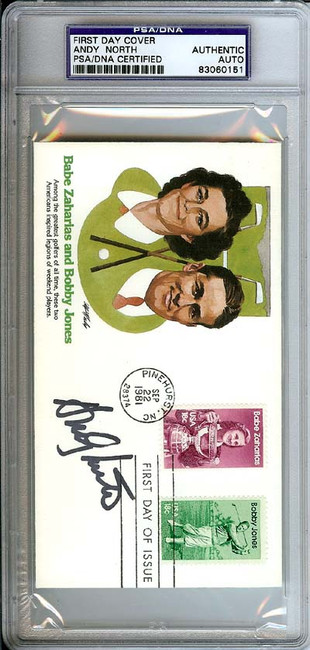 Andy North Autographed First Day Cover PSA/DNA #83060151