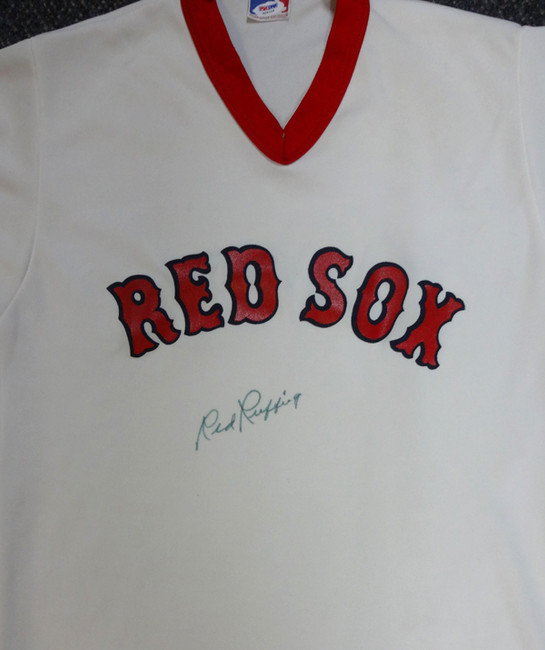 Red Ruffing Autographed Boston Red Sox Jersey PSA/DNA #X04118
