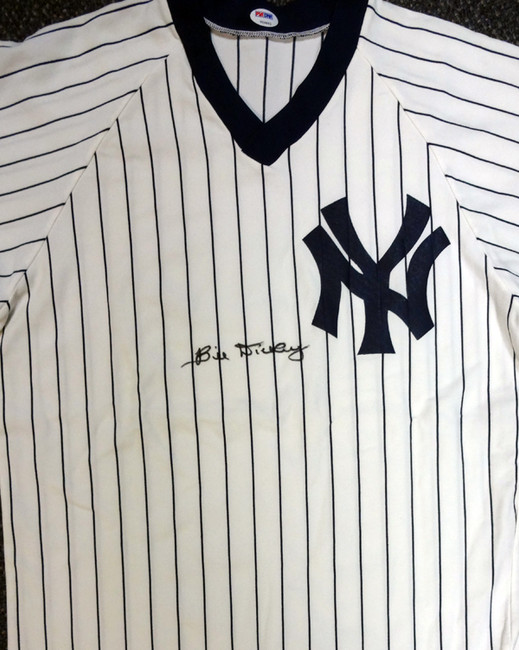 Bill Dickey Autographed New York Yankees Jersey PSA/DNA #V09863