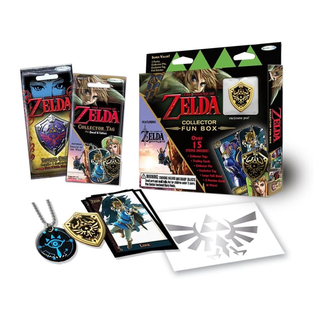 The Legend of Zelda Pins 4 Pack by BioWorld