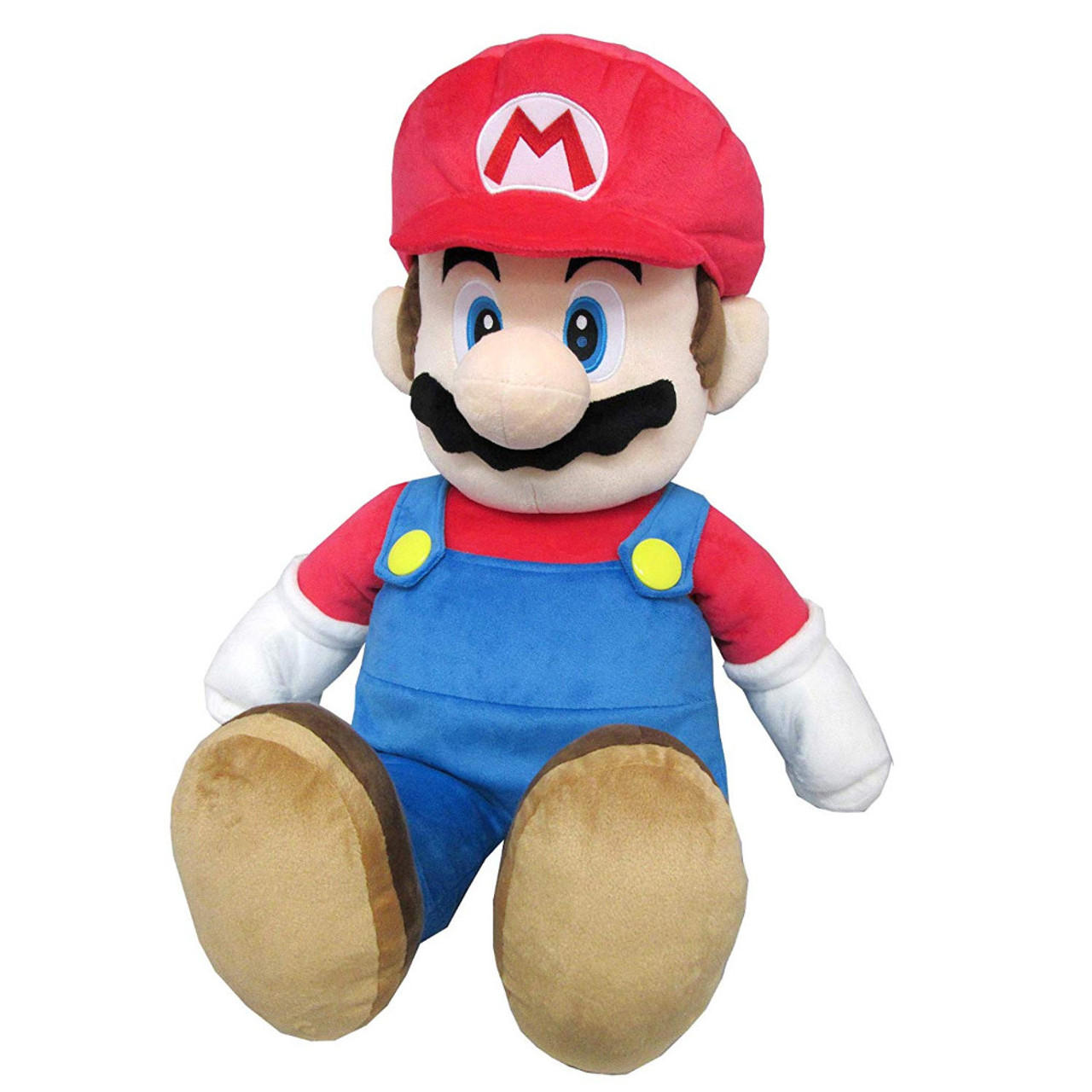 """Licensed Product Super Mario Bros Yoshi 18/"""" inches Plush Backpack"""