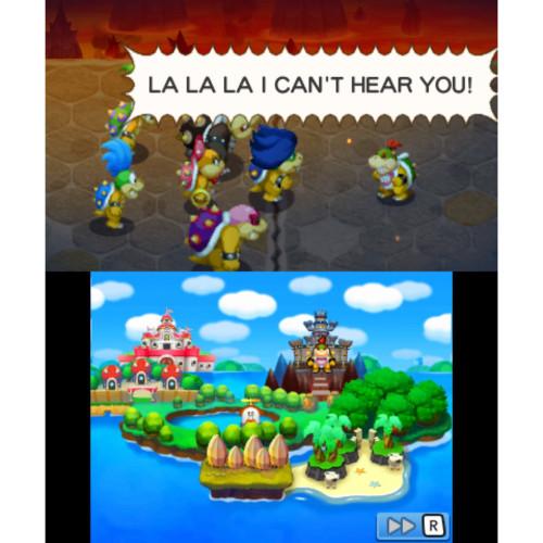 mario & luigi bowsers inside story rom español mega