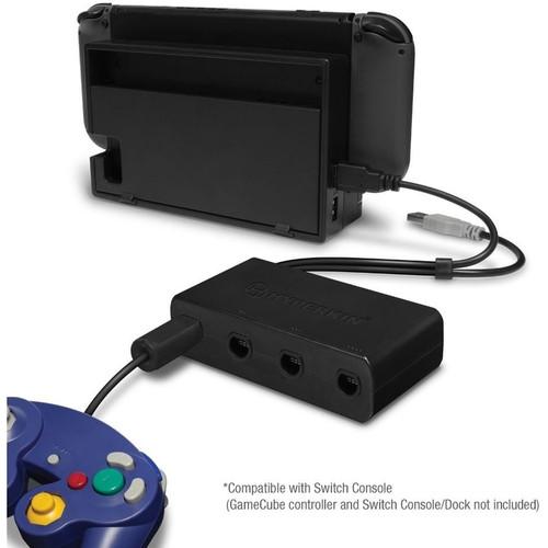 Wii U 4-Port Gamecube Controller Adapter Hyperkin - Vast Inc