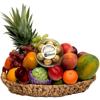 Fruit Gift with Ferrero Chocolates ...