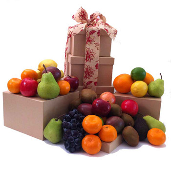 Fruit Only Tower Gift - Free Shipping - Sydney, Melbourne, Brisbane, Gold Coast ...