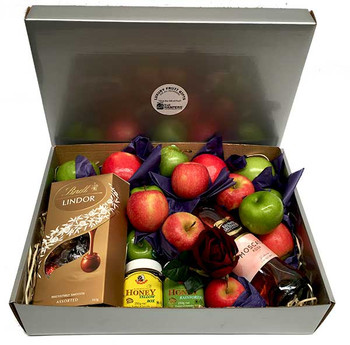 Jewish New Year Gift H&ers ...  sc 1 st  iGift Fruit H&ers & iGift Box Hamper iGift Pty Ltd
