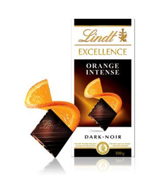Lindt Orange Chocolate Bar